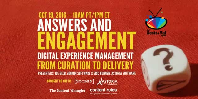 Answers and Engagement: Digital Experience Management from Curation to Delivery