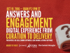 Answers and Engagement: Digital Experience from Curation to Delivery