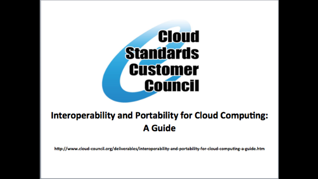 Interoperability and Portability for Cloud Computing: A Guide