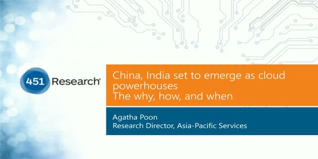 China, India set to emerge as cloud powerhouses: The why, how, and when