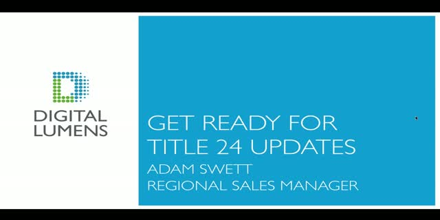 Get Ready for Title 24 Updates