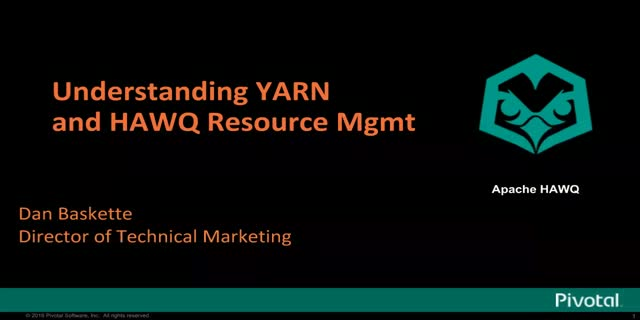 How to manage Hortonworks HDB resources with YARN