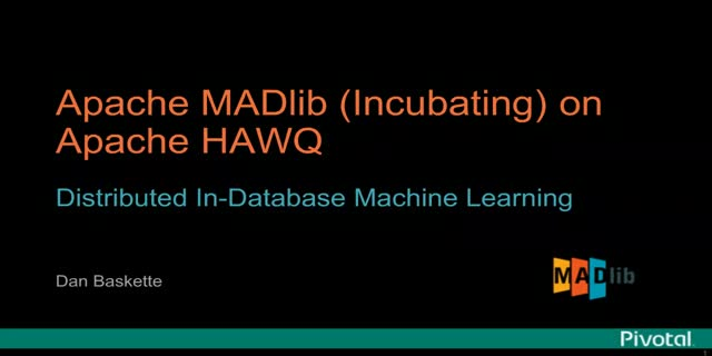 How to get started with Apache MADlib on Hortonworks HDB