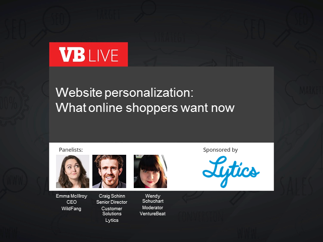 Website personalization: What online shoppers want now
