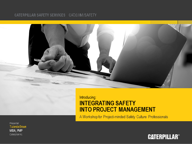 Integrating Safety into Project Management