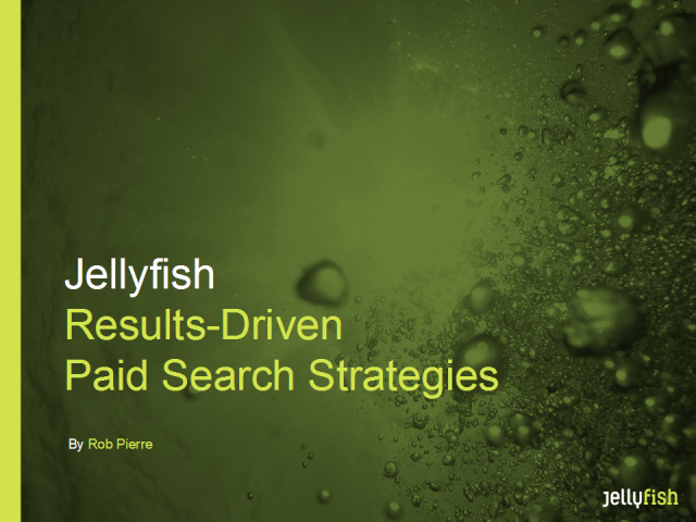 Advanced Search Strategies - results-driven paid search