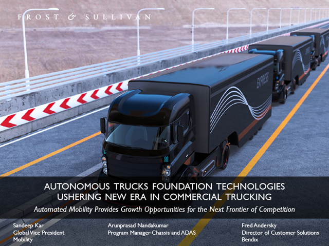 Autonomous Trucks Technologies Ushering New Era in Commercial Trucking