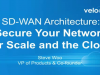 SD-WAN Architecture: Secure Your Network for Scale and the Cloud