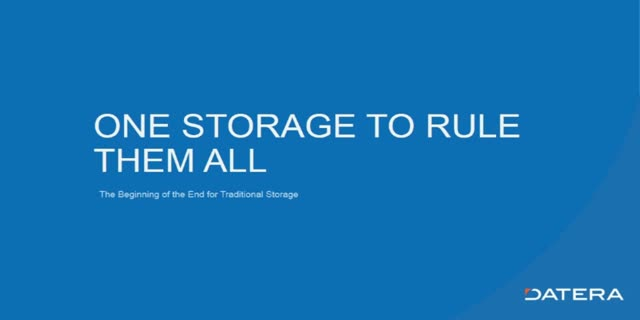 Data Storage Breakthrough: The Beginning of the End for Traditional Storage