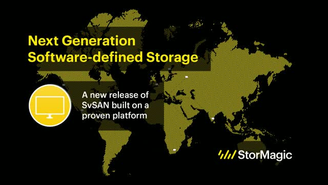 Next Generation Software Defined Storage