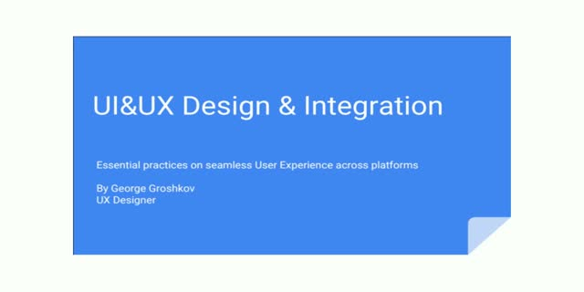 Essential Practices on Seamless User Experience Across Platforms