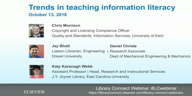 Trends in teaching information literacy