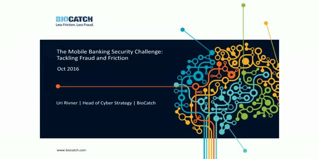 The Mobile Banking Security Challenge: Tackling Fraud and Friction