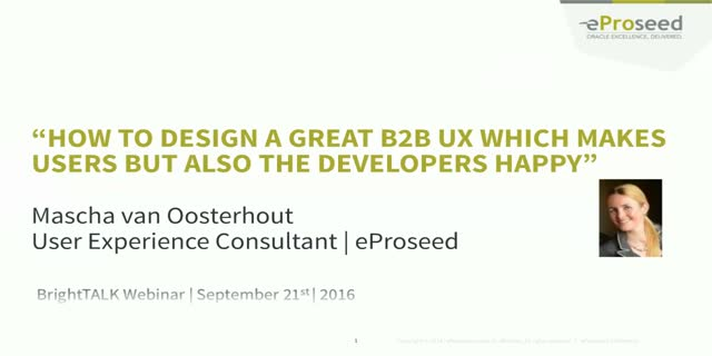 How To Design a Great B2B UX Which Makes Users and Developers Happy
