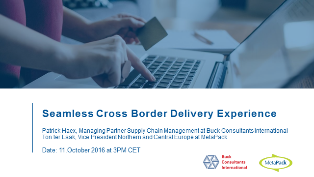 Seamless Cross Border Delivery Experience