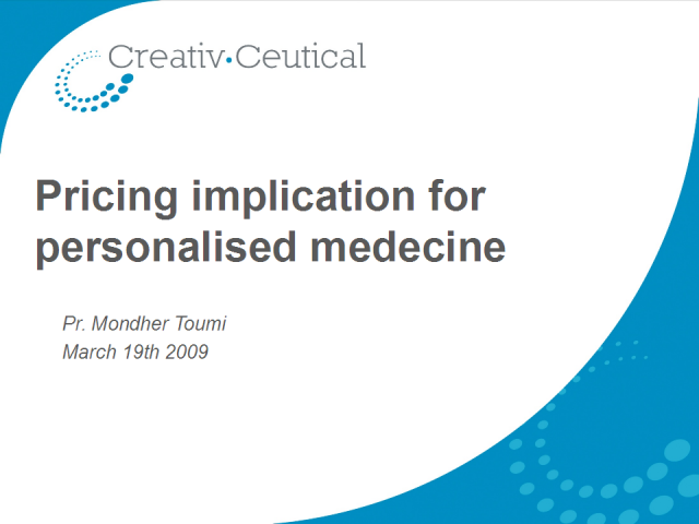 The Impacts of Personalized Medicine: Pricing and Market Access