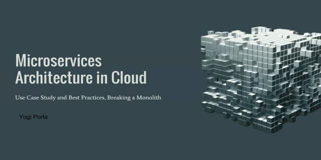 Microservices Architecture in Cloud