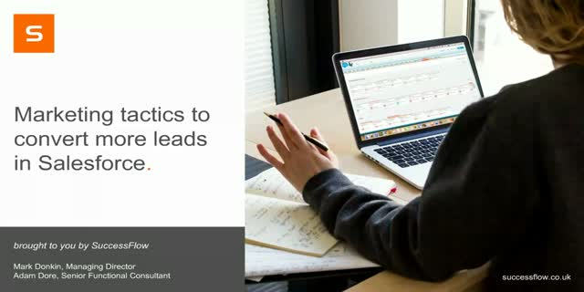 Marketing tactics required to convert more leads in Salesforce