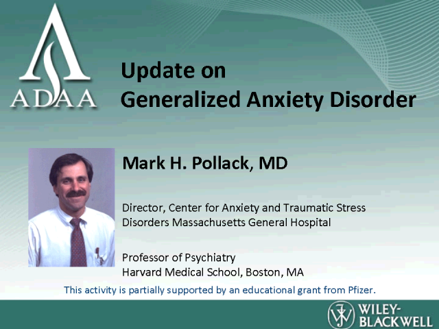 Understanding & Treating Generalized Anxiety Disorder
