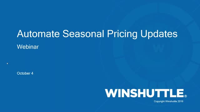 Automate Seasonal Pricing Updates in SAP with Winshuttle!