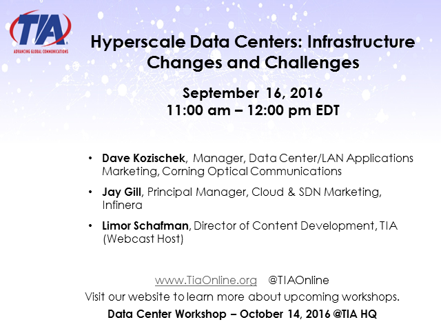 Hyperscale Data Centers: Infrastructure Changes and Challenges