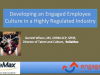 Developing an Engaged Employee Culture