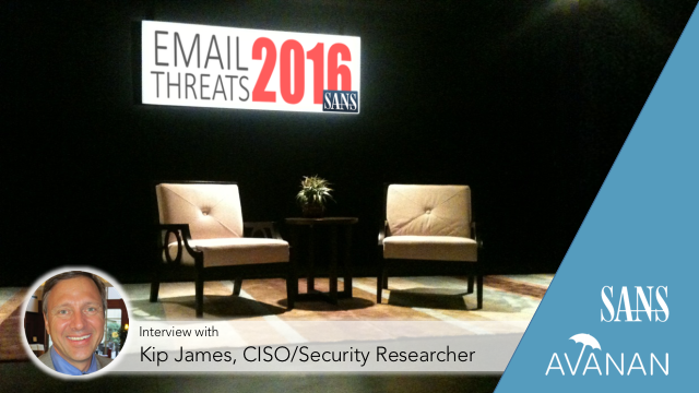 SANS Interview: Office 365 Email Threats 2016
