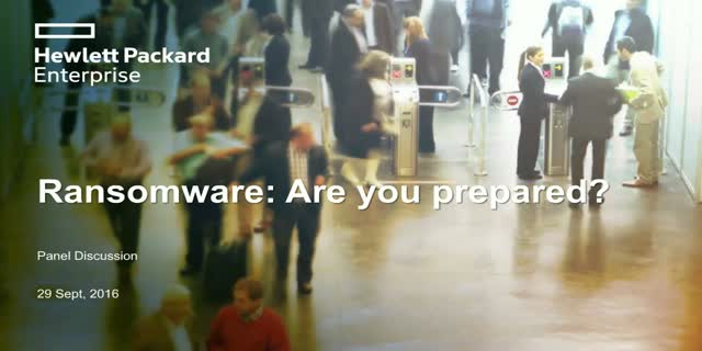 Ransomware: it's not if, but when. Are you prepared?