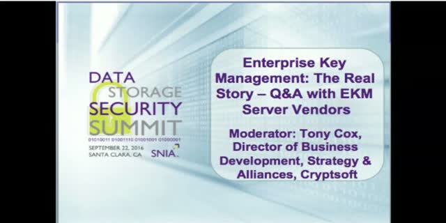 Enterprise Key Management: The Real Story – Q&A with EKM Server Vendors