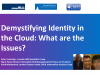 Demystifying Identity in the Cloud: What Are the Issues?
