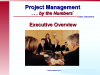"""Project Management … by the Numbers"""