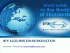 NFV Acceleration Technology Overview and Standards Update