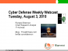 Cyber Defense Weekly: Cyberwar is not the Cold War