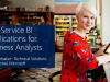 Self-Service BI Applications for Business Analysts