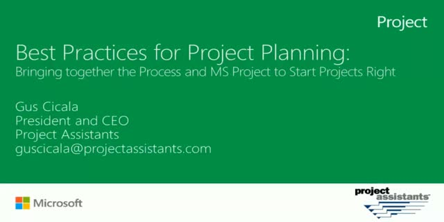 Best Practices for Project Management and Planning