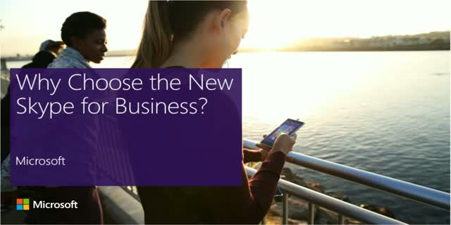 The New Skype for Business: A Cloud Communications Solution