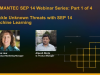 SEP 14 Webinar Series: Tackle Unknown Threats with SEP 14 Machine Learning