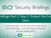 CA Briefings Part 2 - Step 1: Protect the Front Door