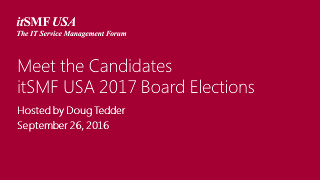 Board Elections - Meet the Candidates!