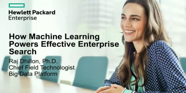 How Machine Learning Powers Effective Enterprise Search