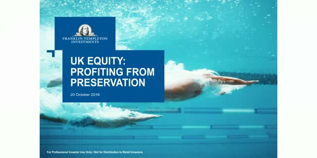UK Equity: Profiting from Preservation