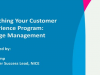 Launching Your Customer Experience Program: Change Management