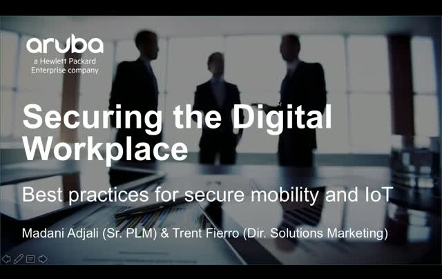 Best practices for secure mobility and IoT