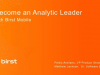Become an analytics leader with mobile Business Intelligence