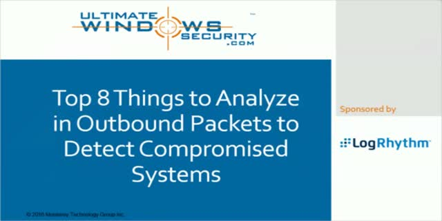 8 Things to Analyse in Outbound Packets