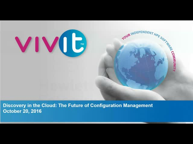 Discovery in the Cloud: The Future of Configuration Management