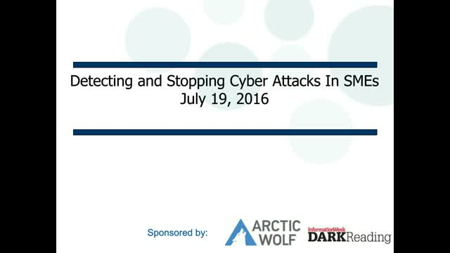 Detecting and Stopping Sophisticated Cyber Attacks, by Dark Reading