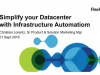 Simplify your Datacenter processes with Infrastructure Automation on FlexPod