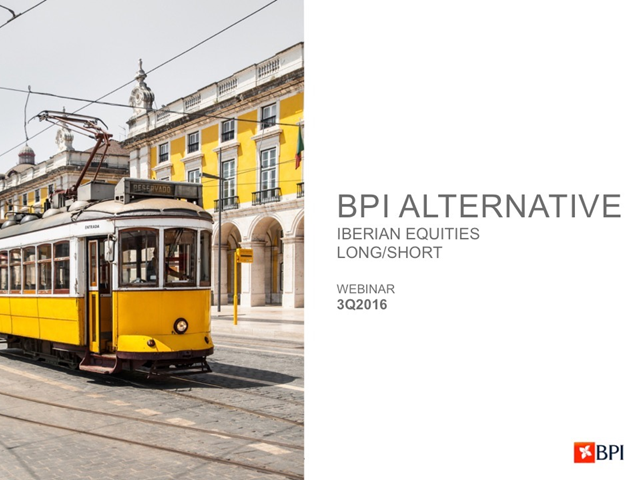 BPI Alternative Fund - Iberian Equities Long/Short 3rd Quarter 2016