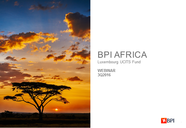 3rd Quarter Review BPI Africa - Equity Fund